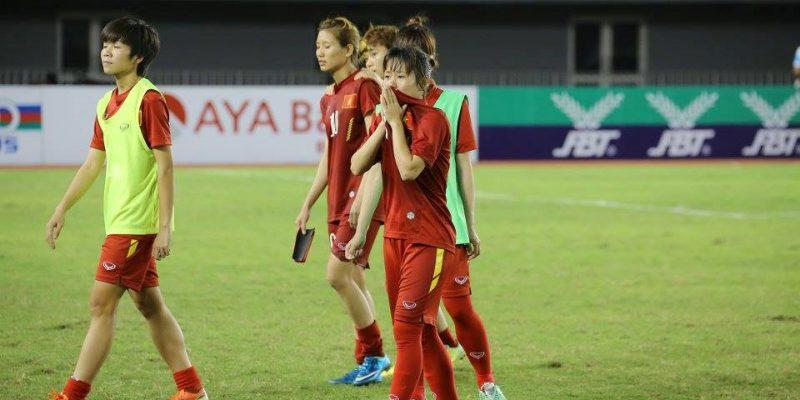 Đội tuyển nữ Việt Nam chia tay Asiad 2018