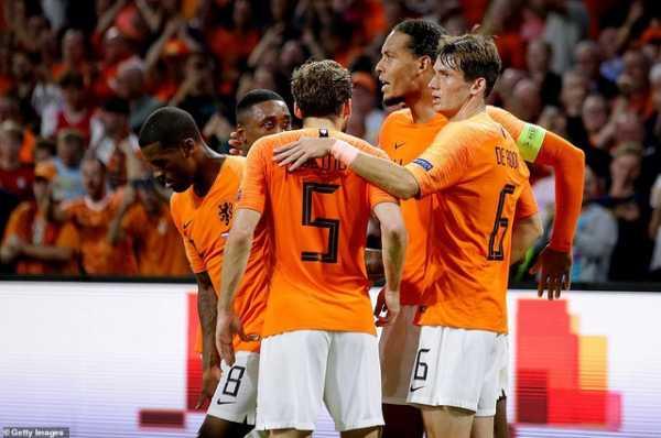 Đức và Hà Lan cùng lọt vào vòng chung kết EURO 2020
