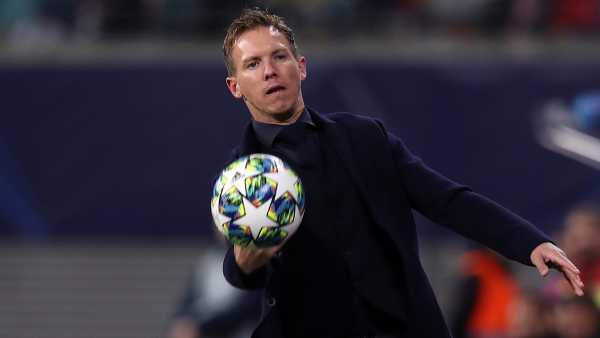HLV RB Leipzig không hài lòng khi trọng tài cho PSG được hưởng 11m