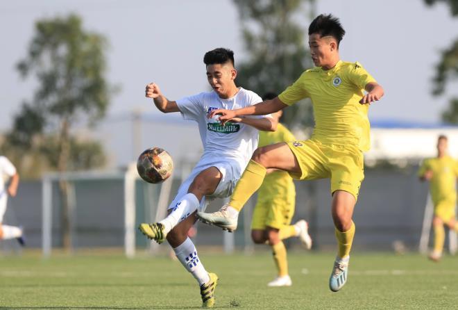 U17 HN cố gắng vào được bán kết U17 Quốc Gia
