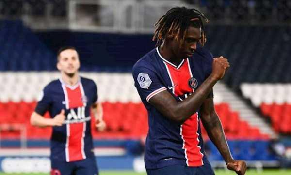 Moise Kean-Tân binh làm nên bàn thắng đầu tiên cho Paris Saint-Germain