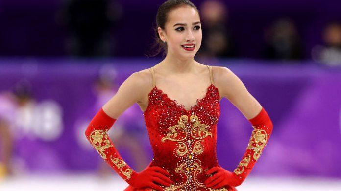 Alina Zagitova - vận động viên trượt băng nghệ thuật Nga