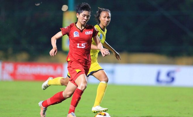 Các cô gái TP.HCM có thể vô địch sớm 1 vòng đấu nếu hòa Thái Nguyên