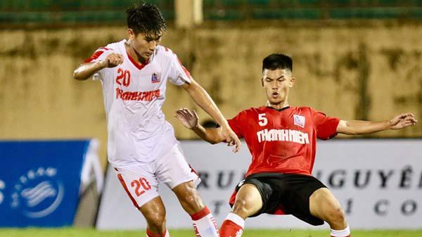 VCK U21 Quốc Gia: Các cầu thủ trẻ Viettel và Nam Định thi đấu đầy ấn tượng